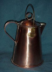 Traditional coffee pot